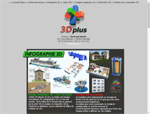 Tablet Preview of 3d-plus.fr